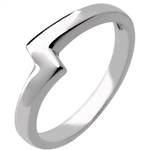 Shaped Wedding Ring 2.5mm (R946) - All Metals
