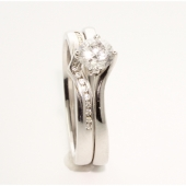 Diamand Wedding & Engagement Ring Sets