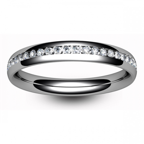 Eternity Ring (TBC1042F) - Full Channel Set - All Metals