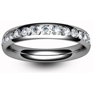 All Half Eternity Diamond Rings - 9ct White Gold