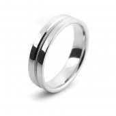 Wedding Rings Optional Designs Add A Pattern to Any Plain Ring