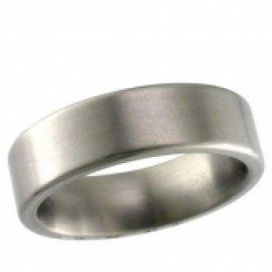Plain Titanium Wedding Rings