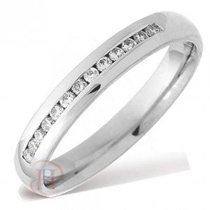 Palladium Diamond Wedding Ring - Special Offer