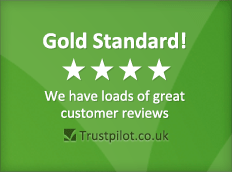Gold Standard! **** We have loads of great customer reviews on Trustpilot.co.uk